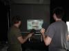 VR Pong im Einsatz